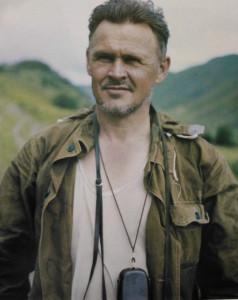 Генрих Анохин в горах.